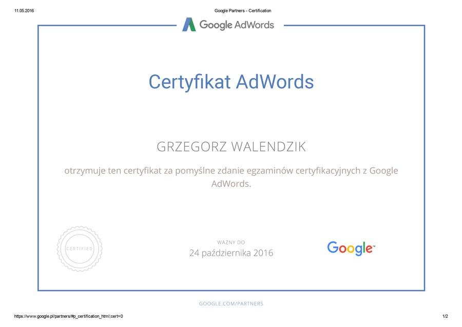 certyfikat-google-ad-words